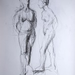 life drawings from London.