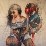 Untitled (girll) 150cm x 125 cm