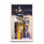 """From """"3 Figures with the Head of John the Baptist"""" (Gutter) 200cm x 120cm"""